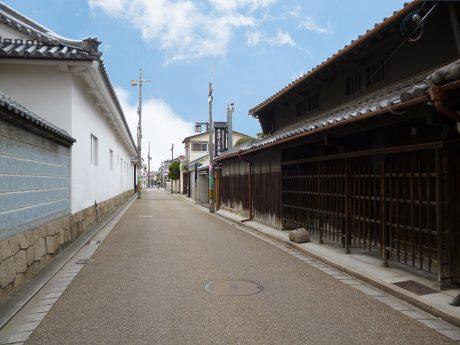 久宝寺寺内町の町並み