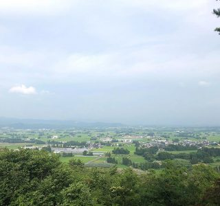 山形県飯豊町散居集落景観