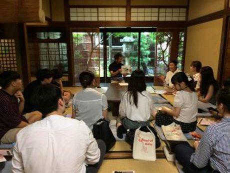 京町家でお盆を学ぶ