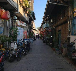 台南を代表するオールドストリート神農街