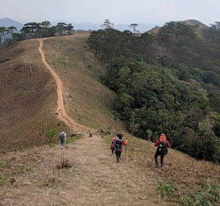ベトナム一のトレッキングコース「Ta Nang – Phan Dung」にて
