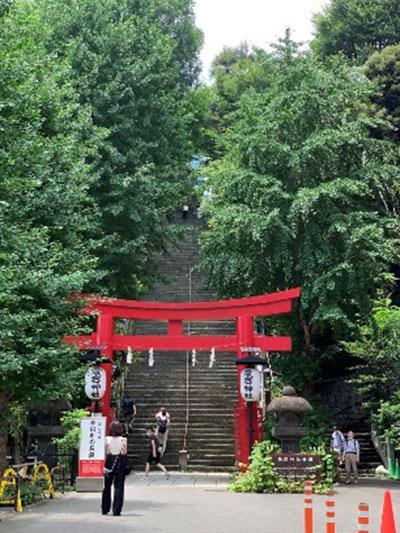 愛宕山 参道は「出世の石段」と呼ばれています
