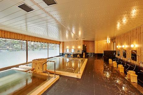 2階天然温泉浴室