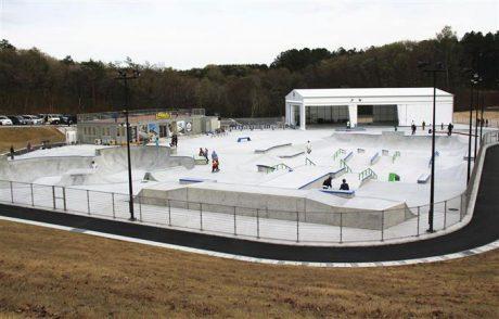 笠間芸術の森公園スケートパーク(笠間市)